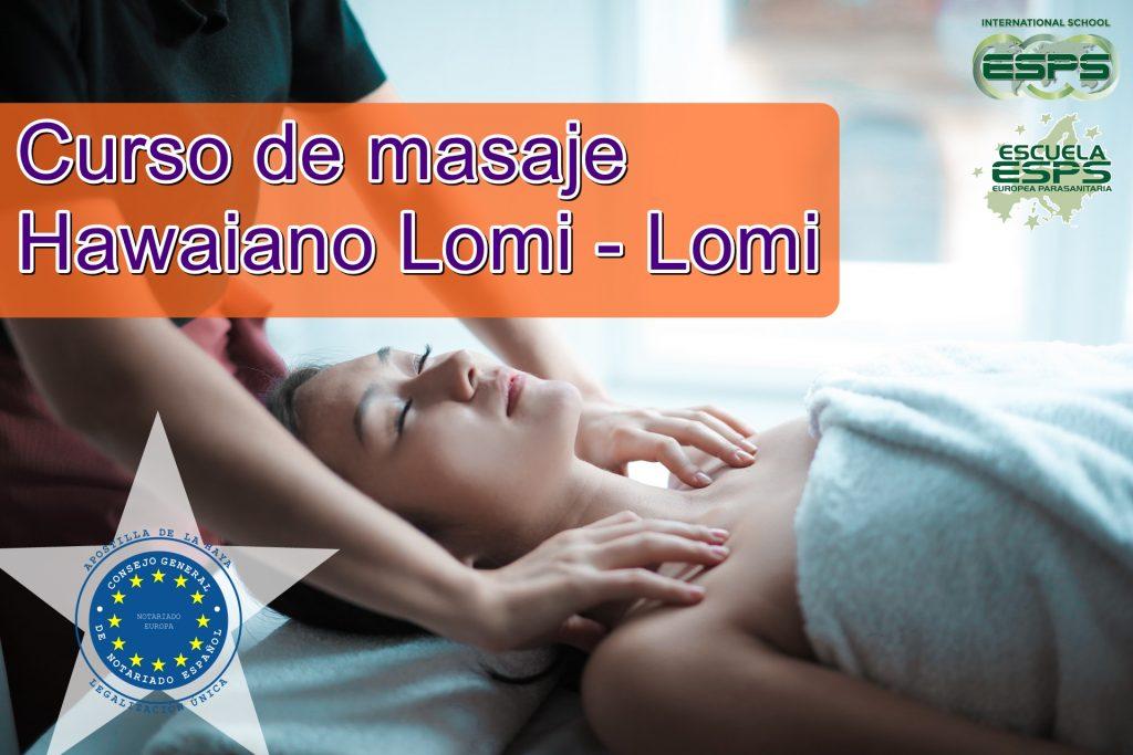 """Lomi-lomi, significa """"masaje"""" en el idioma hawaiano."""